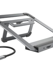 HAMA Notebook Stand with 12-in-1 USB Type-C Docking Station