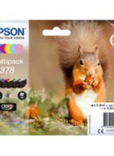 Epson Squirrel Multipack 6-colours 378 Claria Photo HD Ink