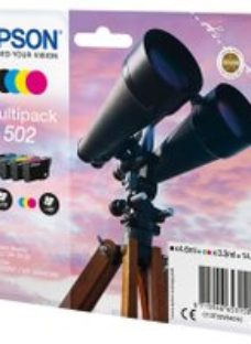 Epson Binocular Multipack 4-colours 502 Ink